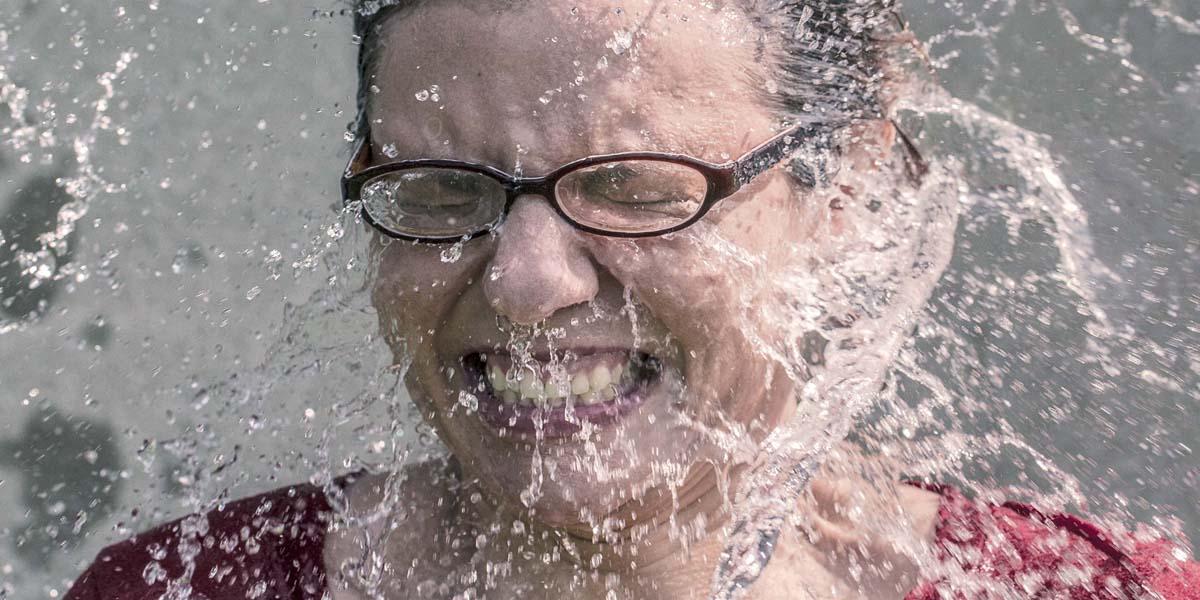 Waschen ja - nass nein