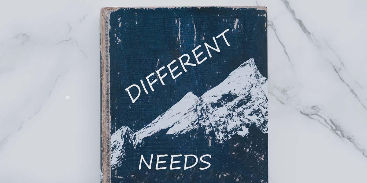 Unterschiedliche Bedürfnisse -Achtsamkeit4life